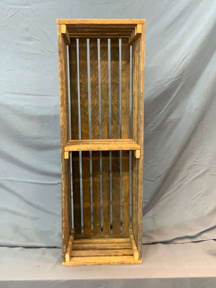 """Wooden Tobacco Lath Crate 36"""" x 12"""" x 10"""""""
