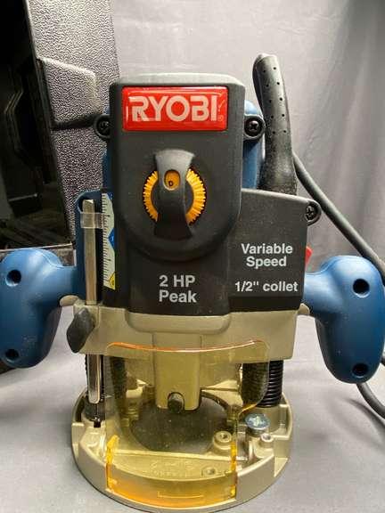 Ryobi 2HP Peak Router, powers on