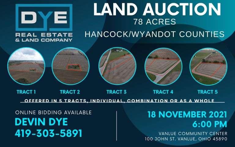 78 Acres, Hancock and Wyandot Counties