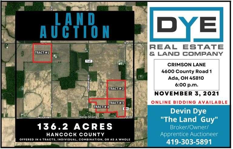 136 Acres Hancock County