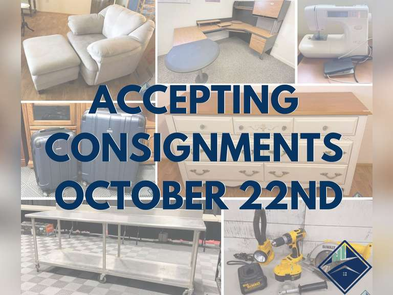 JT's Consignment **Starts Accepting Consignments October 22nd**