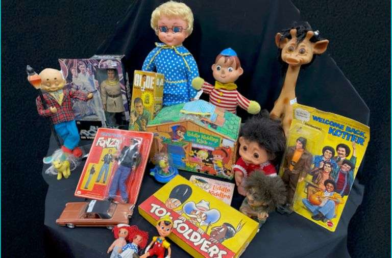 Lambel Vintage Toy Collection #4