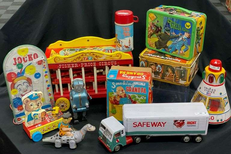 Lambel Vintage Toy Collection #3