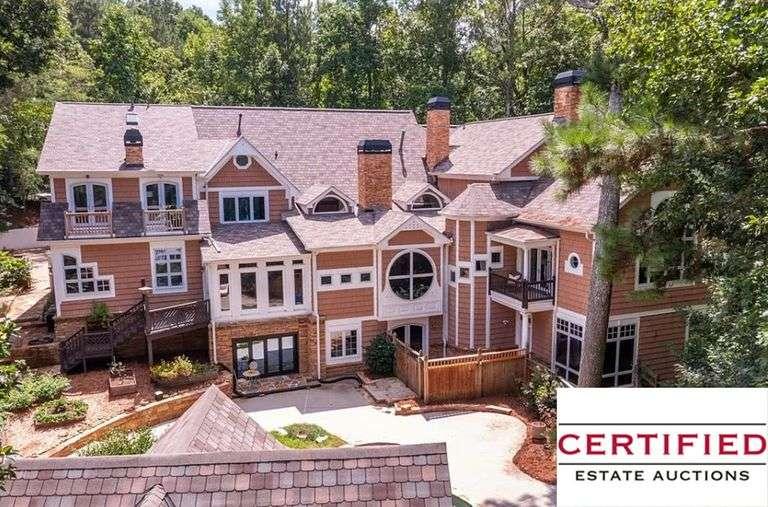 Full Estate Auction in $1.3M Milton Estate!