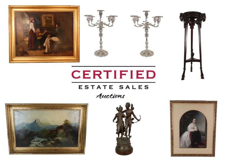 CES Presents: Stunning Lifetime Collection of Antiques, Artwork, and More