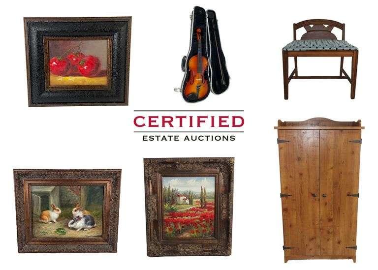 Certified Estate Sales Full Estate Auction!