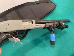 Mossberg 500AT 12ga. Pump Action Shotgun w/ Assault Attachments