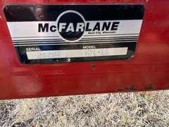 McFarlane 16' Harrow Hydraulic Folding Attachment