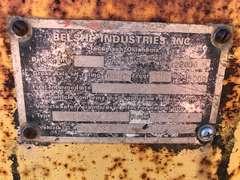 1992 Belshe Tandem Dual Equipment Trailer