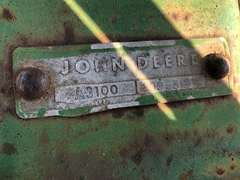 John Deere A3100 5-16 Plows w/ Dual Hydraulic Hitch