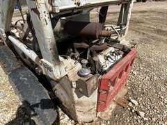 Bobcat 610 Skidsteer w/ Quick Attach Loader Bucket & Hay Fork Attachment