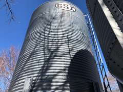900 Bushel GSI Grain Bin