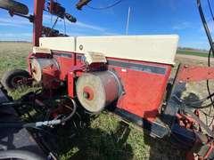 3pt. 12 Row Case International Cyclo-Air 900 Planter w/ Equipment Dolly & 300 Gallon Poly Tank