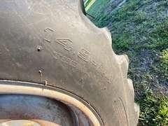 1998 Case IH 2388 Axial Flow Combine with 30' Header & Trailer