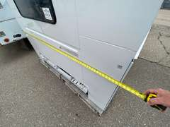 """79"""" x 96"""" (New) Omaha Single Wheel Utility Truck Bed Enclosed"""