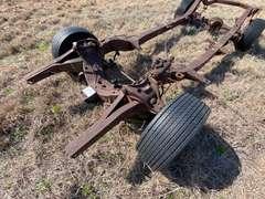 1955-57 Chevrolet Belair Custom Box Frame w/ Mag Wheels & Tires