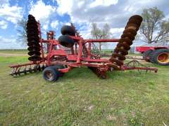 Miller 28' Offset Hydraulic Double Folding Disc Attachment