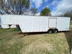 "94"" x 33' Outlaw Gooseneck Enclosed Car/Race Trailer"