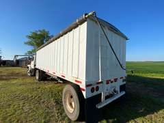 24' Semi Belly Dump Single Axle Trailer