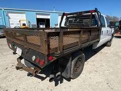 2014 Ford F-250XL Crew Cab 4x4 Powerstroke Diesel Flatbed Truck (Unit #1186)