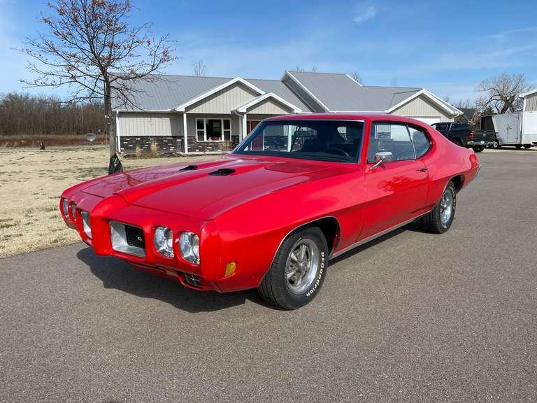 May 26, 2021 1970 Pontiac GTO Auction