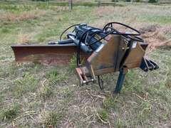3pt 10' Bison Hydraulic Power Tilting/Swiveling Blade Attachment