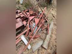 40' x 100' x 18' Red Iron Building Structure Framing