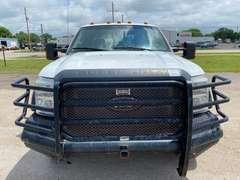 2012 Ford F-450XL Crew Cab 4x4 Flatbed Diesel (Unit #1152)