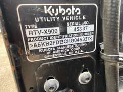 2017 Kubota RTV-X900 Diesel 4x4 (Unit #1783)