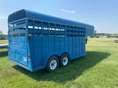 Custom Made Livestock Trailer