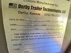 2008 Derby Technologies Gooseneck Stock Trailer