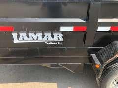 "2014  Lamar Dump Trailer 83"" X 14'"