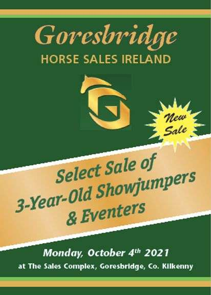 Select Sale Of 3 Yr Old Eventers & Showjumpers