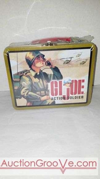 1997 Hasbro GI Joe Action Soldier lunch box. Never opened.