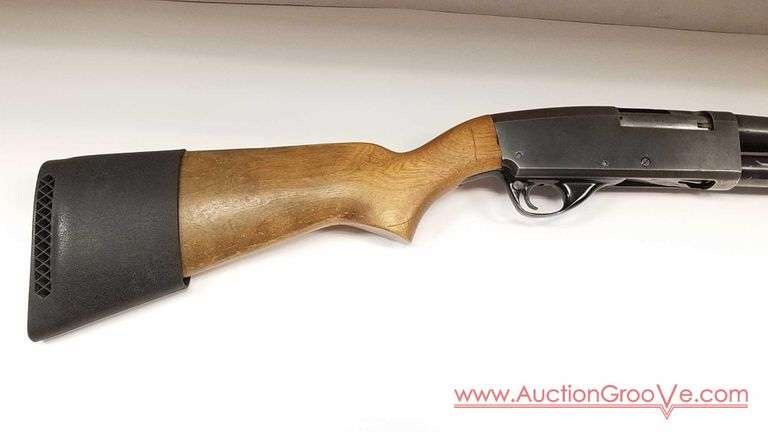 STEVENS Model 67F 12 ga Pump Shotgun chambered for 2 3/4 or 3 inch shells.