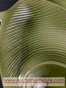 LARGE Mid Century Modern Florence Ceramics divided dish.
