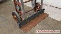 Heavy duty Dolly with tilt action wheels. 66.5Hx15