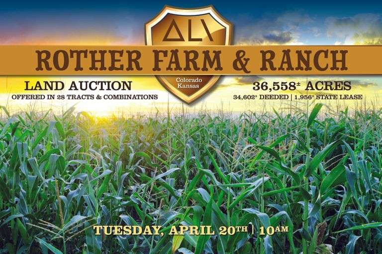 Rother Farm & Ranch Auction