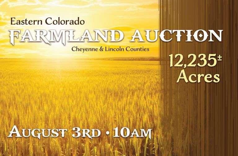 Eastern Colorado Farmland Auction