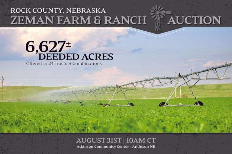 Zeman Farm & Ranch Auction
