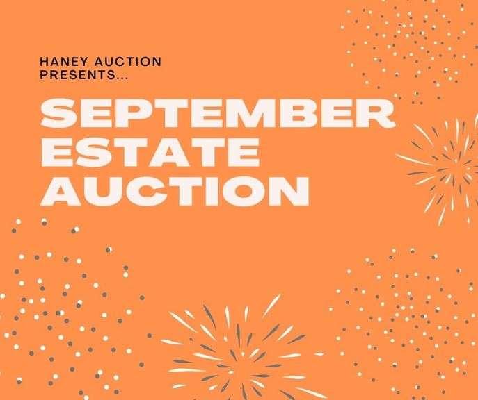 September Estate Auction