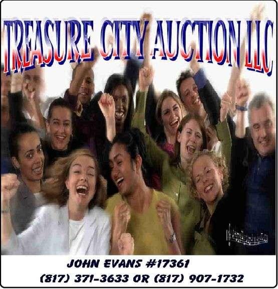 TREASURE CITY AUCTION LLC. FABULOUS PARTIAL ESTATE SALE! FOREST HILL,TX