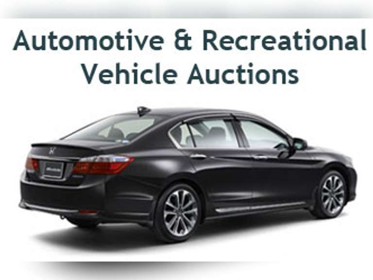 AUTOMOTIVE AUCTION - TUESDAY MAY 4, AT 12:00 NOON