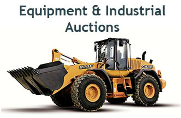 MAJOR HEAVY EQUIPMENT AUCTION - FRIDAY MAY 14. BEGINS AT 9AM