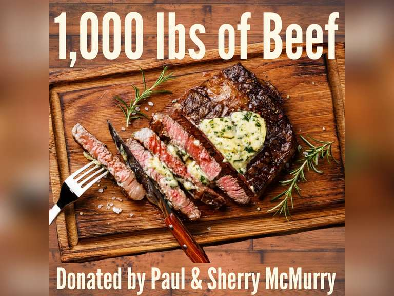 1000 LBS OF BEEF