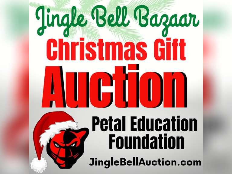 JINGLE BELL BAZAAR GIFT AND TOY ONLINE AUCTION BENEFITING PETAL EDUCATION FOUNDATION
