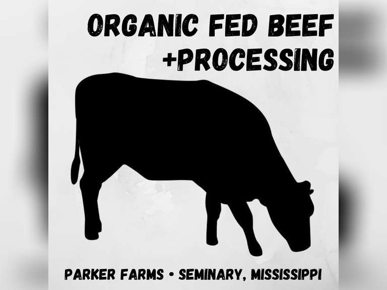PARKER FARMS ORGANIC-FED BEEF PLUS PROCESSING