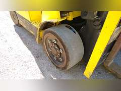 2003 HYSTER S80XM CUSHION TIRE FORKLIFT SN: E004V03522A