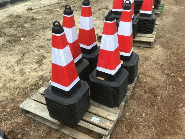 QTY OF (50) SAFTEY CONES