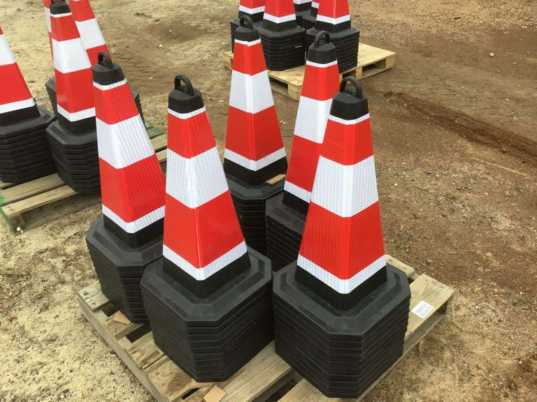 QTY OF (50) SAFETY CONES